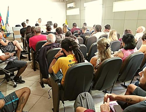 Militância lota plenarinho em plenária do PSOL Pelotas