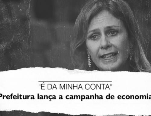 Prefeitura lança campanha para servidores economizarem, mas paga propaganda em horário nobre